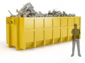 Cost of a Large 30 Yard roll-on roll-off skip bin