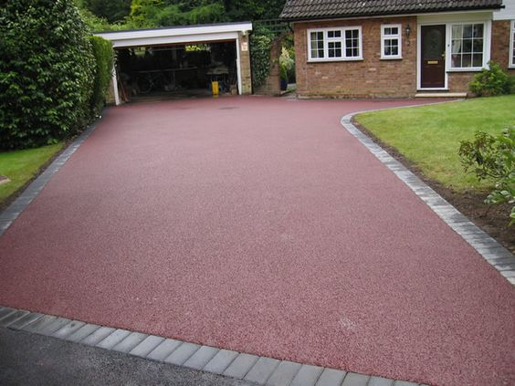 Coloured Tarmac Driveways Ideas