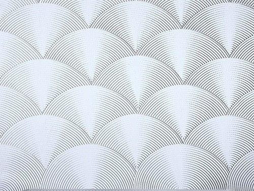 Fan Ceiling Pattern Artex