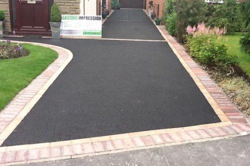 Finished Tarmac Driveway Install