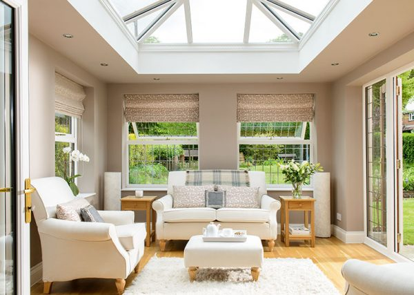 Blinds for orangeries and conservatory blinds for roof