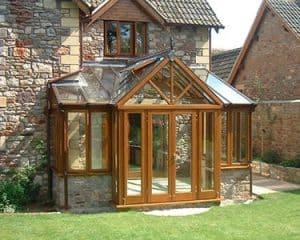 Wooden Conservatories UK