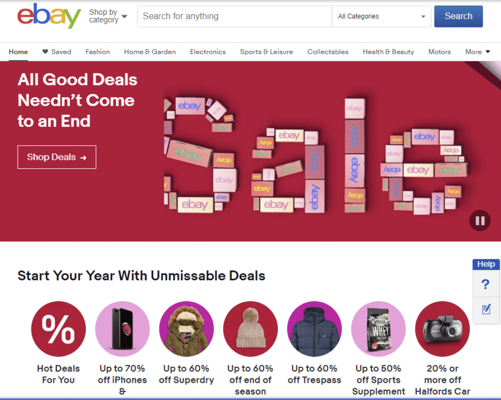 Save more shopping online in 2019 with our eBay voucher codes and deals.