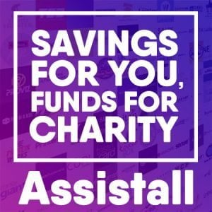 Savings for you funds for charity - Assistall